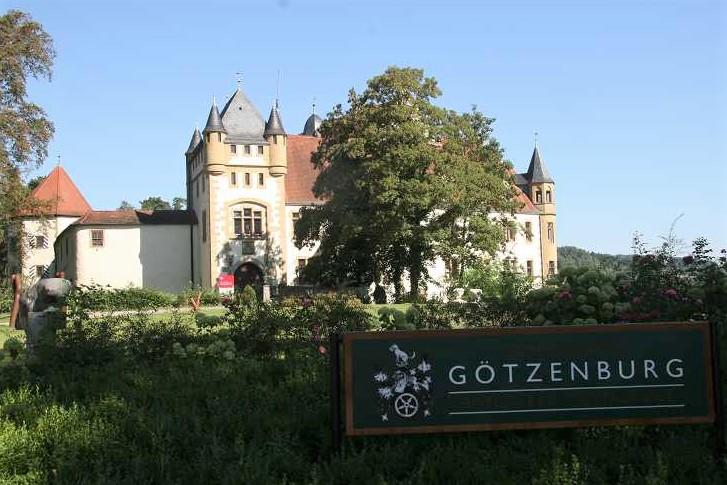Die Götzenburg in Jagsthausen, dem Austragungsort des Finales der Bowhunterliga