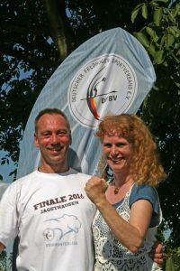 Günther und Lu beim Finale 2016 in Jagsthausen